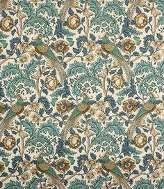Oakmere Fabric / Verdigris | Just Fabrics