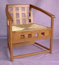 Charles Rennie Mackintosh Chairs by Bruce Hamilton Furniture Makers, Glasgow