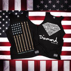 [Be Awear] Diamond Supply Co. x Rocksmith Collaborative Tees & Tanks Pre-Order & Release