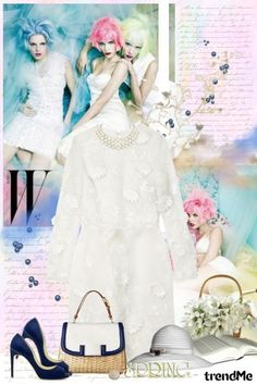 White dress! from Lady Di ♕  - trendme.net