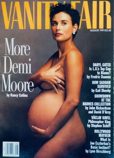 She proved that a woman is most beautiful when she's pregnant.