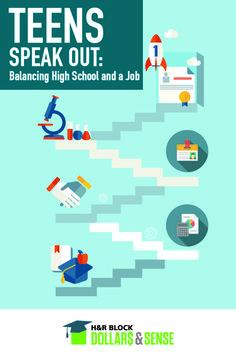 Balancing High School and a Job #highschool #parenting #teaching