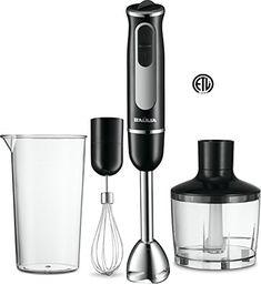 Buy Baulia 500 Watt All-in-One Immersion Powerful Hand Blender Set, Black Best Smoothie Blender, Good Smoothies, Best Immersion Blender, Veggie Bullet, Best Juicer, Best Blenders, Hand Blender, Beef Jerky, Blenders