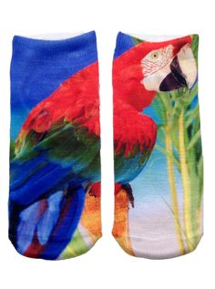 Parrot Ankle Socks