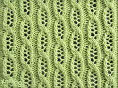 eyelet-lace-stitches | Knitting Stitch Patterns - Free Patterns