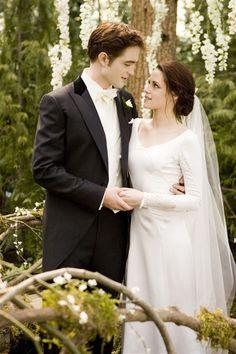 Twilight wedding Robert Pattinson and Kirsten Stewart