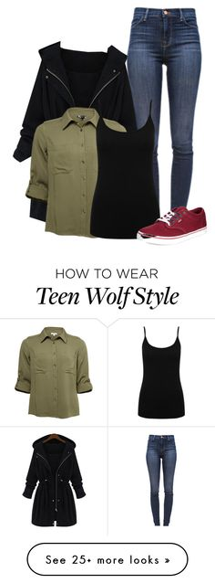 """""""Prp // Teen wolf"""" by jen-the-glader on Polyvore featuring J Brand, M&Co and Vans"""