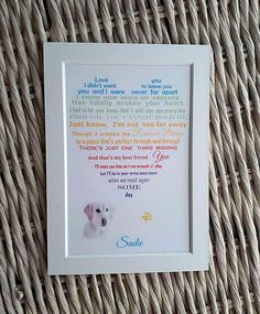 Check out this item in my Etsy shop https://www.etsy.com/uk/listing/273060890/pet-loss-gift-unframed-photo-rainbow