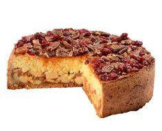 Jahelník jablečný Lehký a přitom vydatný dezert spojuje v ořechovém korpusu typicky česká vařená jablka se skořicí překrytá jáhlovou peřinou, lahodně přelitou karamelem s brusinkami a pekanovými ořechy.