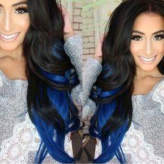 Blue lowlights
