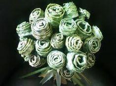 hapene flax weaving - Google Search Flax Weaving, Weaving Art, Weaving Patterns, Basket Weaving, Flax Flowers, Diy Flowers, Wedding Flowers, Rose Crafts, Leaf Crafts