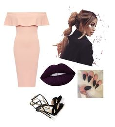 """""""Small party"""" by aishaalhatem ❤ liked on Polyvore featuring Lime Crime and Jimmy Choo"""