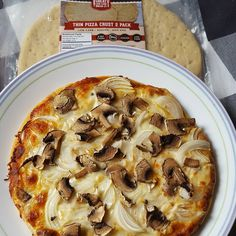 With 2 net carbs per slice, our low carb pizza crust tastes great with toppings of your choice! : @dkotchey