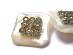 Vintage Buttons Mother of Pearl and by heartseasevintage on Etsy, $38.00