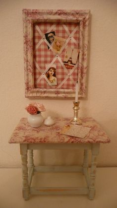 A lovely little Toile de Jouy scene made by Evelyne Fontaine