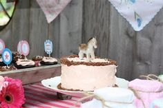 Lucia's Sweet Vintage Cowgirl Birthday Party! | The TomKat Studio