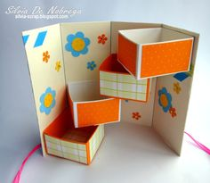 Silvia Scrap: Casita - Pajarito Secret-Box