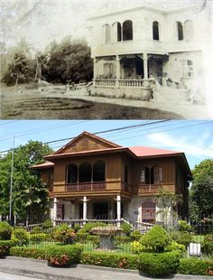 """BALAY NEGRENSE  Location: Cinco Noviembre St., Silay Negros Occidental Philippines Wayback 1918 *It Was built in 1887 *It Was originally the ancestral house of Victor Fernandez Gaston  *The structure was abandoned in the mid 1970's  *In 1992, Msgr. Guillermo Ma. Gaston donated Gaston House to the Philippine Tourism Authority  *In March 8, 1994 the house is proclaimed a heritage of the National Historical Institute  *Today ,Gaston Ancestral House also known as """"Balay Negrense"""" a Museum In… Philippines Tourism, Visayas, Gaston, Pinoy, Present Day, Abandoned, Architecture Design, Illustration Art, Museum"""