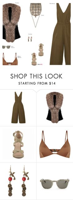 """NewChic"" by s-thinks ❤ liked on Polyvore featuring Ulla Johnson, Chanel, Melissa Odabash, Yves Saint Laurent and ootd"