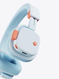 MONOKIDS-Headphones on Behance Id Design, Media Design, Design Trends, Wireless Backup Camera System, Calendar Design, Vintage Cameras, Minimal Design, Industrial Design, Consumer Electronics