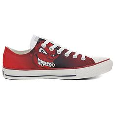 Make Your Shoes Converse Customized Adulte - chaussures coutume (produit artisanal) Pirelly size 36 EU