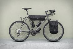 Tour-Oriented Bicycles - The Chacha Customizable Bike Features Accessories Geared to Exploration (GALLERY)