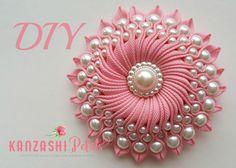 DIY Ribbon Crafts : Diy Ribbon Flower