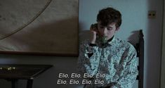 """""""Call Me by Your Name dir. Your Name Quotes, Movie Subtitles, Timmy T, Film Aesthetic, Film Quotes, Fine Men, Aesthetic Pictures, Call Me, Good Movies"""