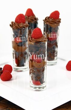 Free shipping and returns on CATHY'S CONCEPTS 'Yum!' Dessert Shooters (Set of 4) at Nordstrom.com. A delightful quartet of etched dessert-shot glasses give you one more reason to celebrate.