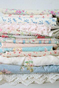 """nestprettythings:  """" Pillow cases on Flickr.  """""""