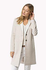 Abrigo De Lona De Lino Y Algodón es lo más destacado de la temporada: recién llegado de la colección de abrigos y chaquetas para mujer de Tommy Hilfiger. Devolución gratuita.