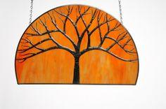 Skeletal tree by Sagawa Glass