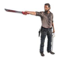 "The Walking Dead Actionfigur Rick Grimes 10"" Deluxe. Hier bei www.closeup.de"