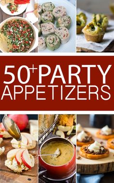 50+ Delicious Holiday Party Appetizers