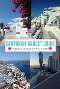 santorini on a budget