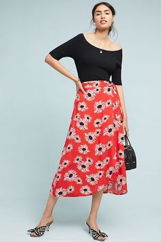 9dac38881e Slide View: 1: Colloquial Tied Skirt Out Of Style, New Outfits, Skirt