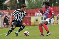 Ilkeston vs Notts County Copyright B&O Press Photo.