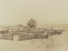 1849-1850 - Herment : vue du village. Photographe : Maxime Du Camp