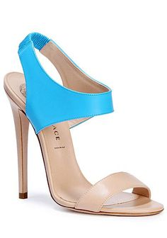 turquoise Versace shoes - i dont know why, but I think you would like these @Kristina Kilmer Kilmer Kilmer Kilmer Kilmer