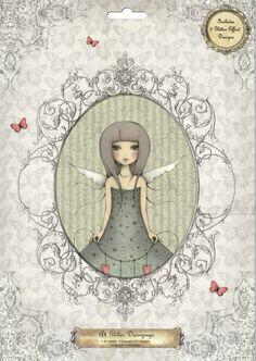 """Santoro/Trimcraft Mirabelle """"""""Butterfly"""""""" A4 Decoupage"""