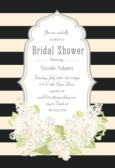 52 best bridal shower invitation templates images on pinterest romantic frame printable invitation template customize add text and photos print download stopboris Images