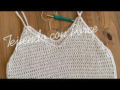 Crochet Shirt, Crochet Crop Top, Crochet Bikini, Knit Crochet, Crochet Designs, Crochet Patterns, Chrochet, Crochet Projects, Lettering