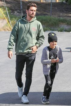 Scott Disick Calabasas April 13, 2017