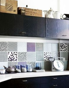 Komon tiles from Made a Mano