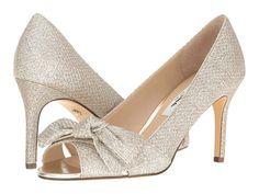 Nina Forbet bow pump. Zappos.com; Wedding shoes