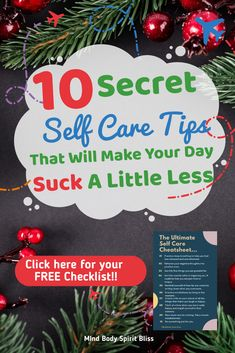 Having a bad day? Well, here's how you can make it better instantly! 10 Self Care Ideas (with free printable) for a bad day! Take care of your mental health with these easy activities to make you feel better. Important things to do for women and moms to take care of their mind, body, and soul.