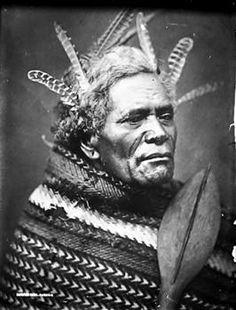 Maori man - Collections Online - Museum of New Zealand Te Papa Tongarewa