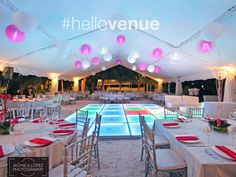 #OceanEvents - your event venue on the shores of Cancun, with breathtaking views of the Caribbean sea!  Explore more great #event #venues & locations via #hellovenue!