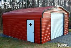 Metal Garages From Coast To Coast Carports Small Garage, Garage Loft, Garage  Doors,