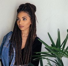Crochet braids marley hair signs 31 Ideas for 2019 Box Braids Hairstyles, Straight Hairstyles, Protective Hairstyles, Protective Styles, Hairstyles 2018, Crochet Braids Marley Hair, Curly Hair Styles, Natural Hair Styles, Pelo Natural